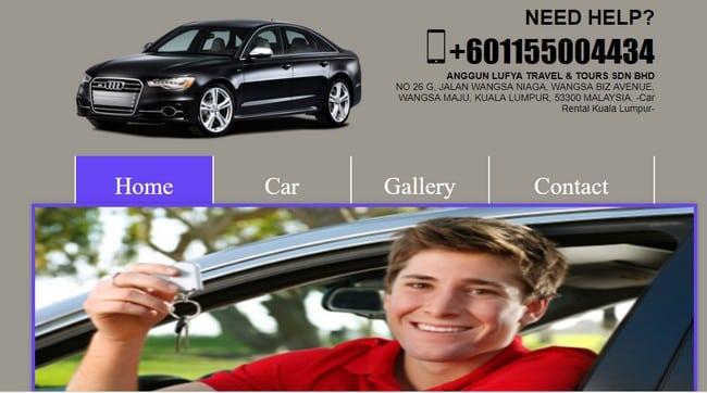 booking kereta sewa kl murah online