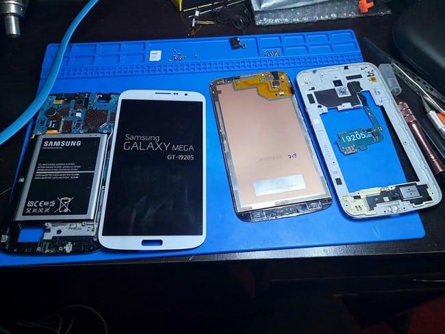 tips hantar repair iphone