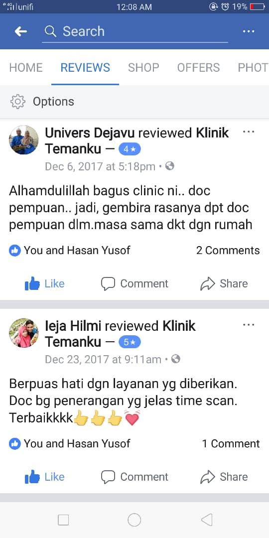 testimoni klinik temanku