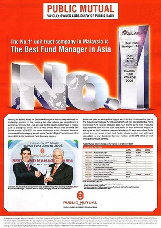 Perunding Amanah (Unit Trust) Terbaik di Malaysia