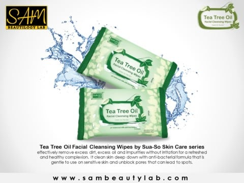 kebaikan tea tree wipes