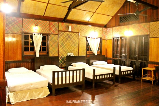 ruang backpackers chalet semporna