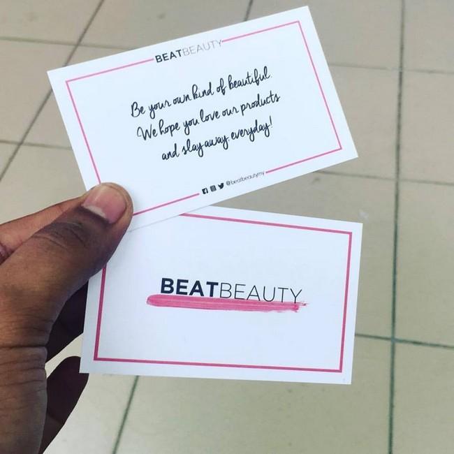 beat beauty namecard