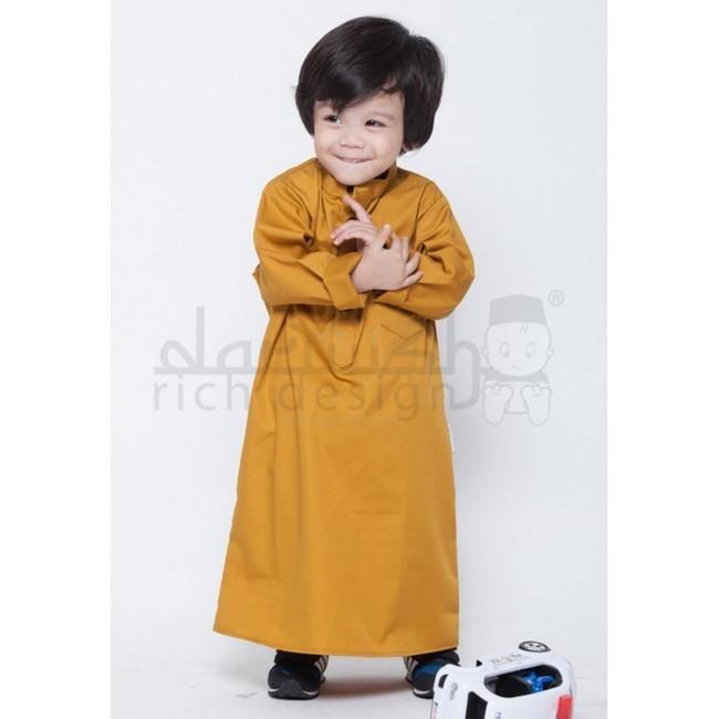 jubah gold