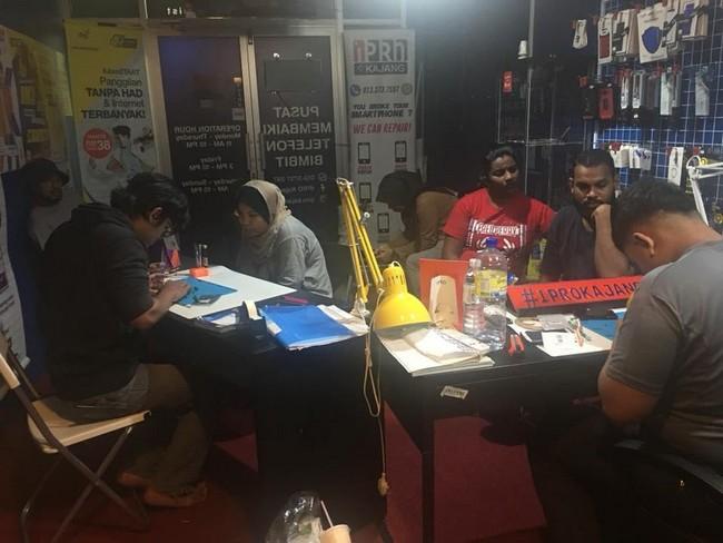 Kedai Repair iPhone yang berbaloi di Damansara 5