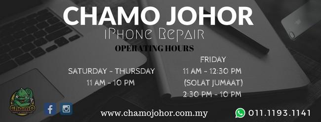 Repair iphone dan android Johor Bahru dengan pantas 1