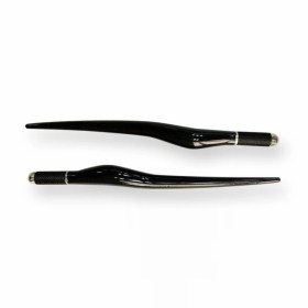 Desingová univerzální tužka pero holder pro všechny typy čepelek pro manuální ruční permanentní MAKE-UP microblading 3D - černá