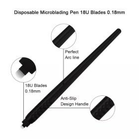 Vysoce kvalitní - tužka pero manuální ruční na permanentní make-up obočí 3D - profesionální lékařské a kosmetické vybavení