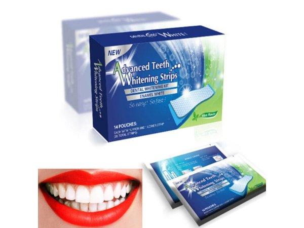 Gelové náplasti na bělení zubů