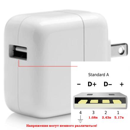 Как разобрать зарядку от iphone 4 5 6 или 7 Все просто