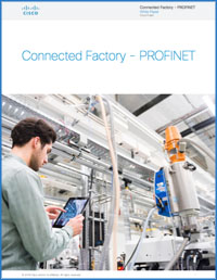 Cisco adopts PROFINET for The Connected Factory