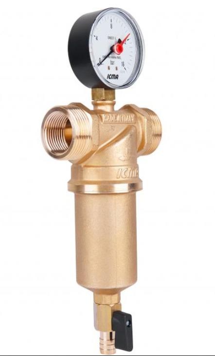 Самопромывной фильтр для воды  ICMA Арт-750