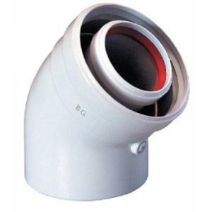 Коаксиальный отвод 45°, MAIN, MAIN DIGIT, ЕСО-3 Compact и Neobit