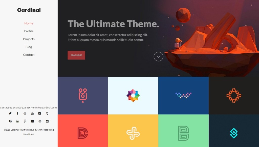 Best Flat Design Themes For WordPress