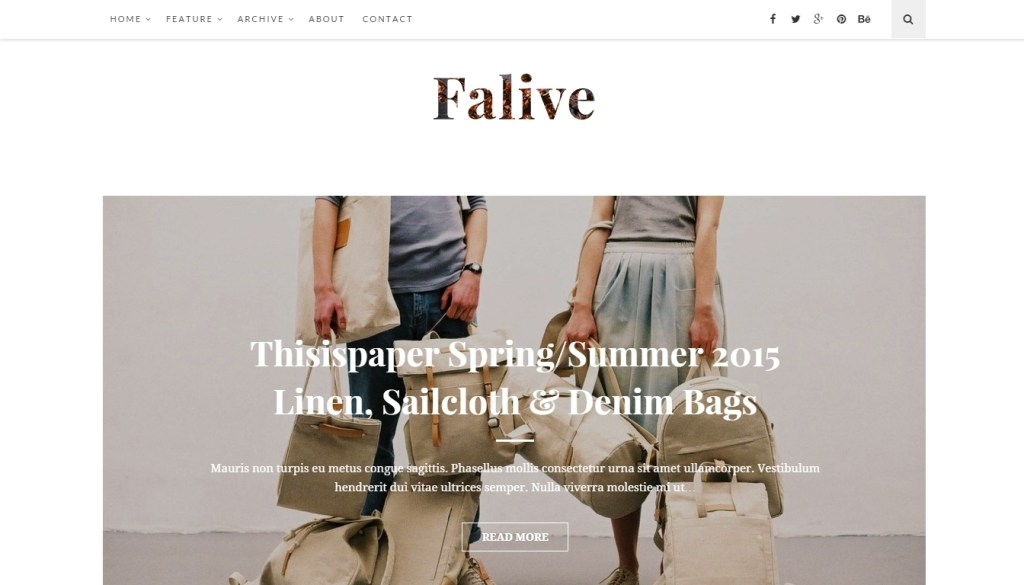 Best WordPress fashion themes for professional fashion blog-2015-