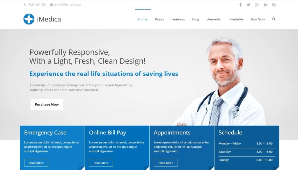 Best WordPress Medical Themes for Doctors, Hospitals and Health Clinic 2016