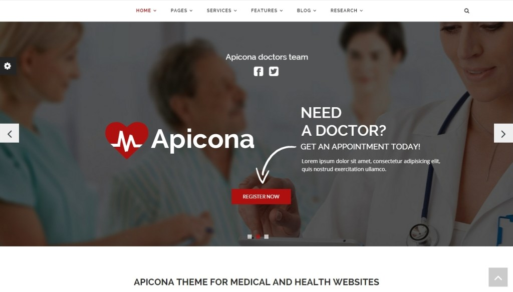 Best WordPress Medical Themes for Doctors, Hospitals and Health Clinic
