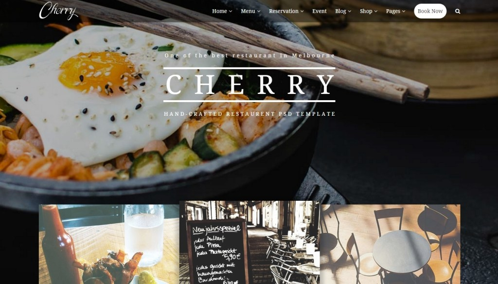 Food business WordPress themes for cafe shop, bakery, pub and bistro (2)