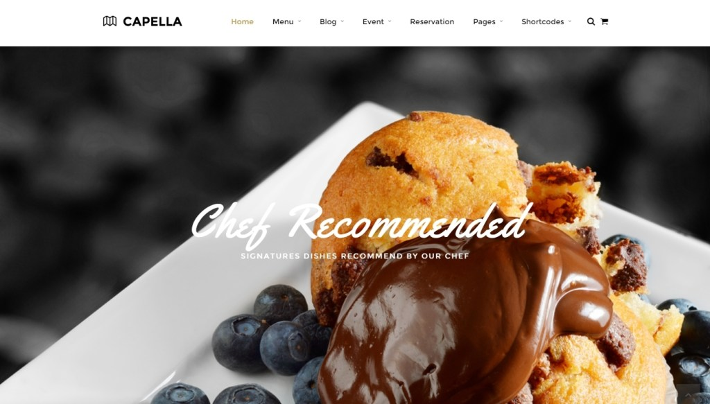 Food business WordPress themes for cafe shop, bakery, pub and bistro (3)