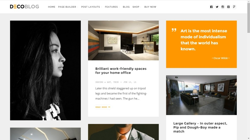 Best creative WordPress Themes to make successful personal blog