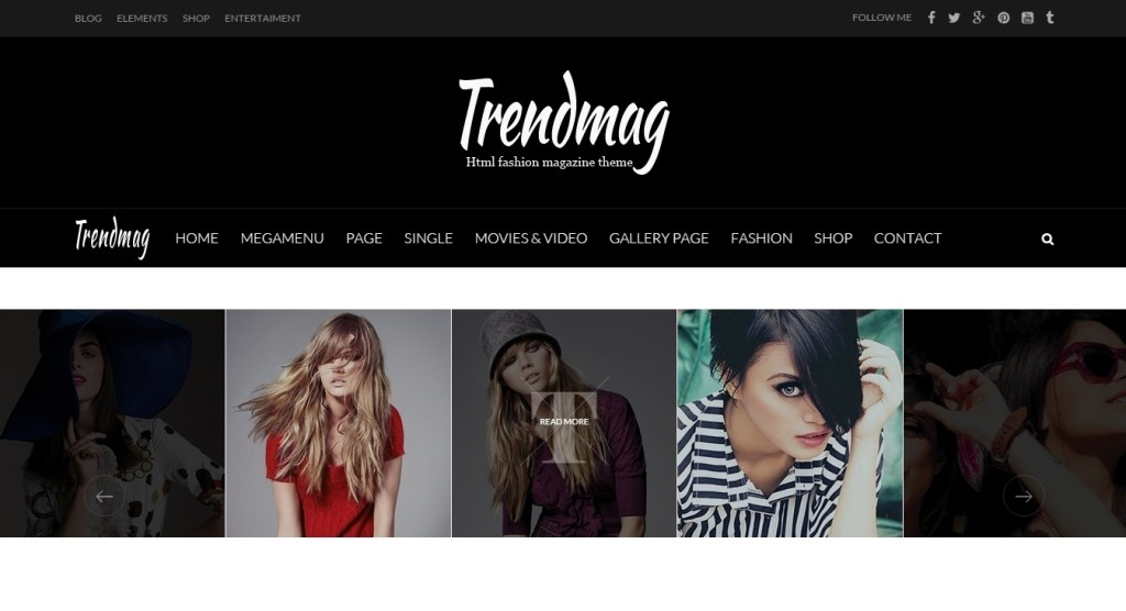 Fashion magazine wordpress themes created recently for 2016