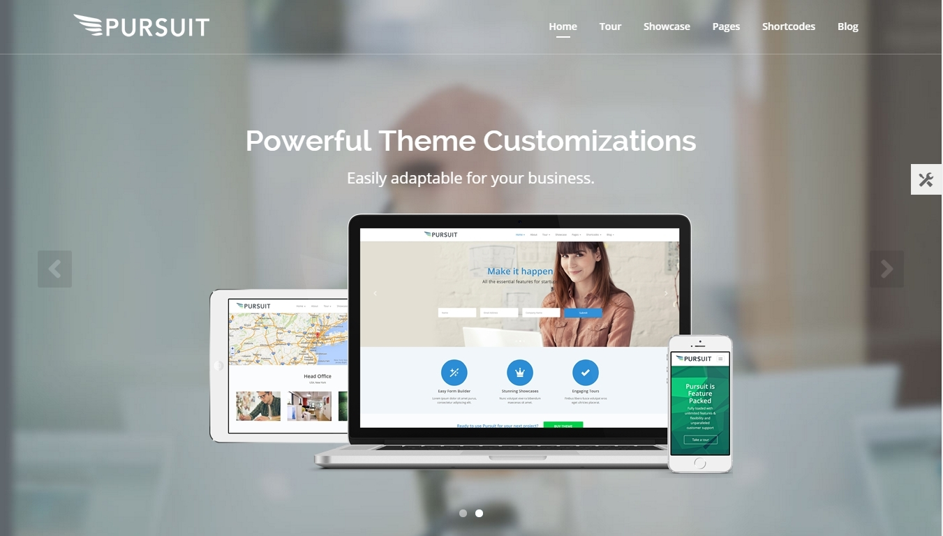 Landing Page and Software Showcase WordPress Themes