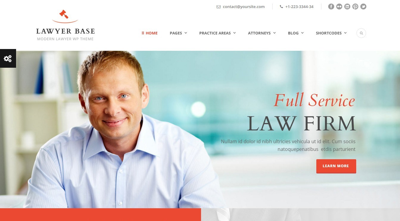 Modern Lawyer and Legal Expert WordPress Themes