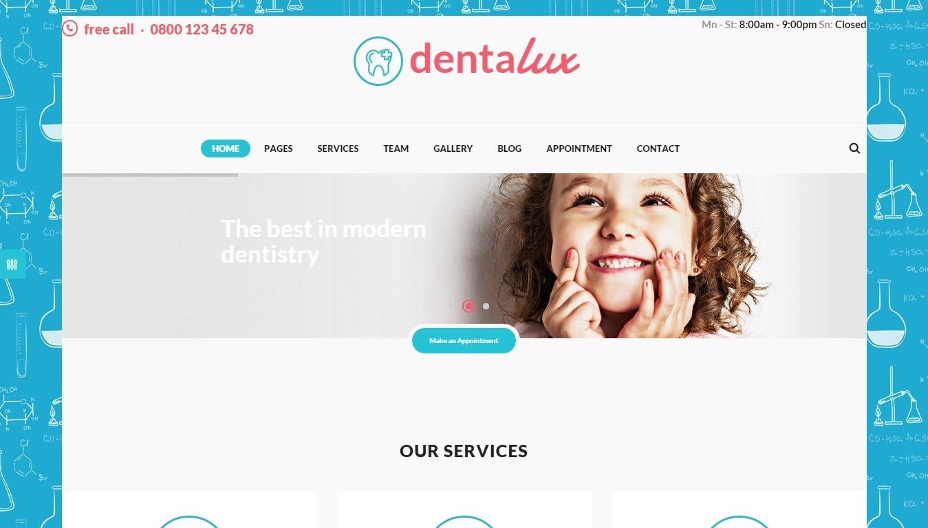 3+ Best WordPress Dentist and Dental Clinic Themes 2016