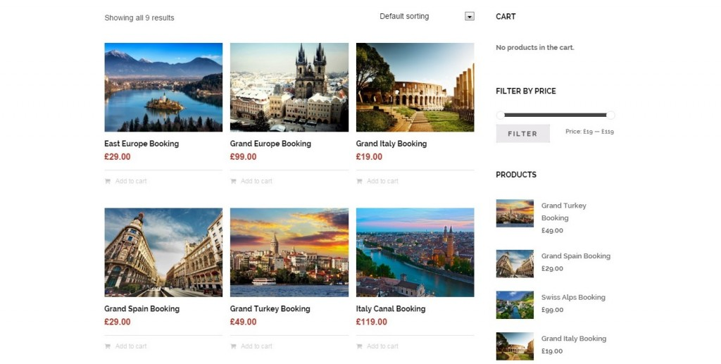 Best Travel Agency WordPress Theme 1