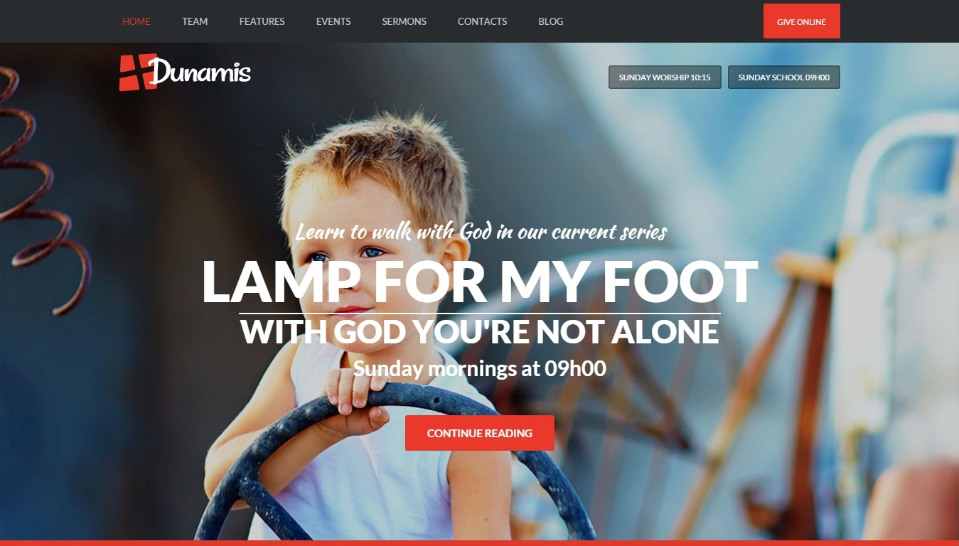Wordpress Christian theme