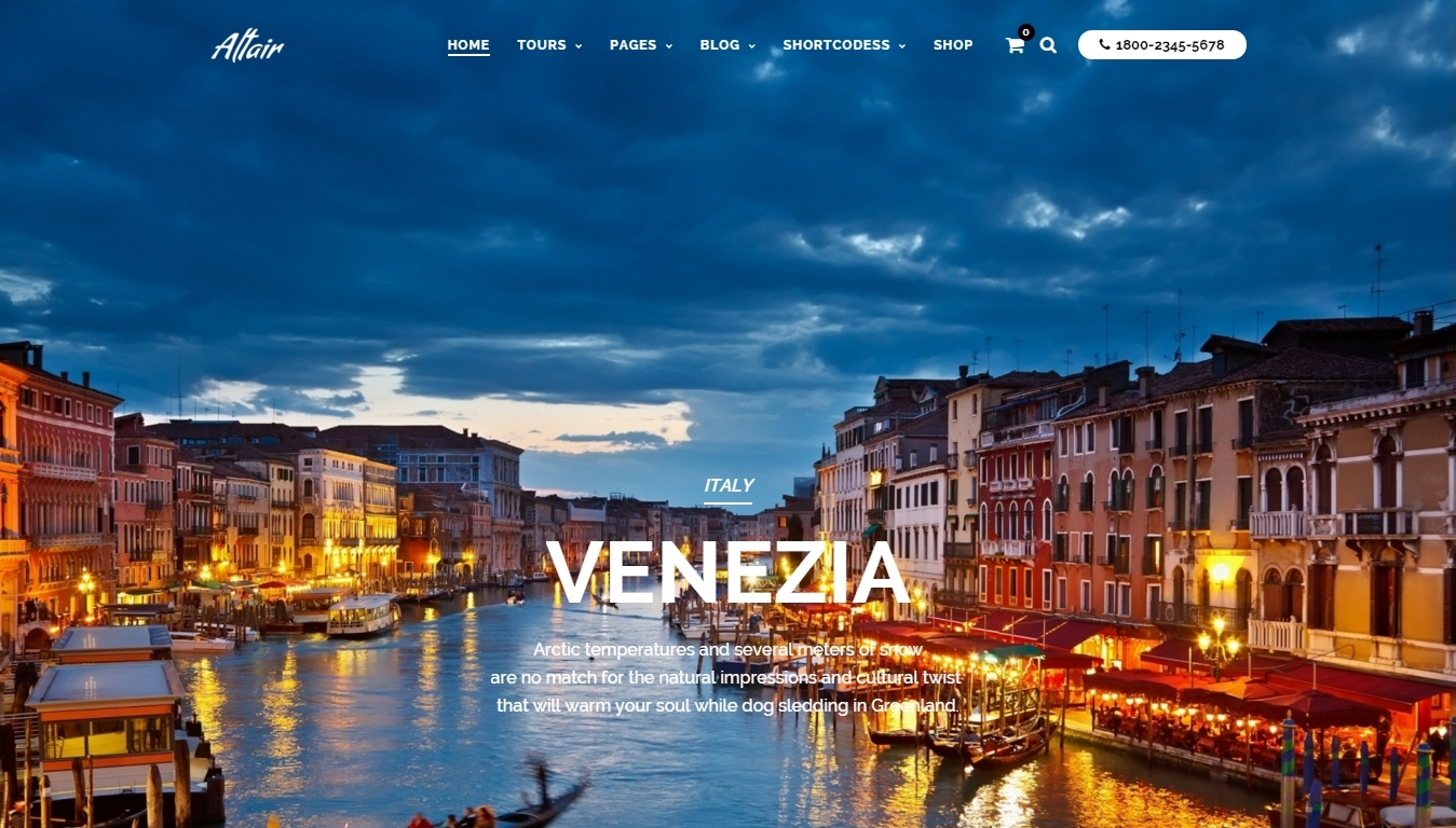 best travel agency wordpress theme