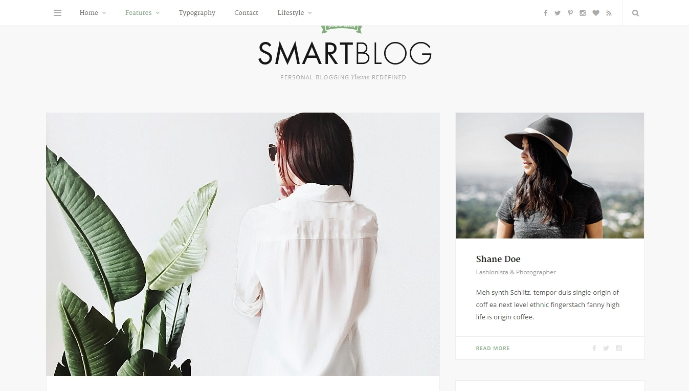 best smart wordpress blog themes