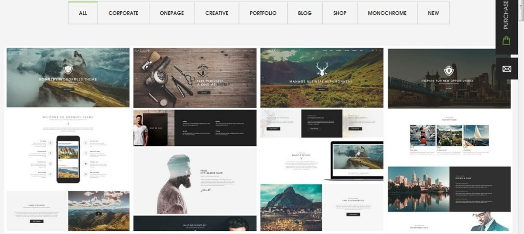WP Themes - 10 quality WordPress templates 2016 10