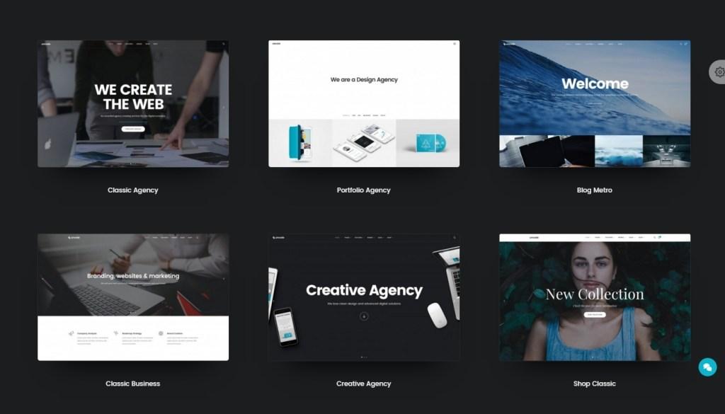 best web agency template 2016
