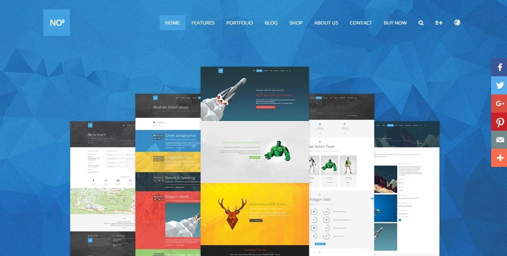 brilliant best web agency template 2016