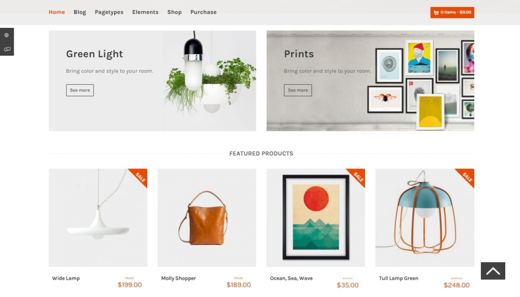 brilliant WordPress store themes