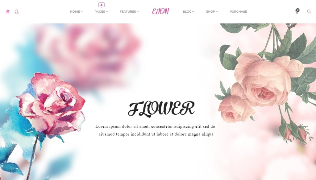 the best flower shop wordpress themes 2016 4