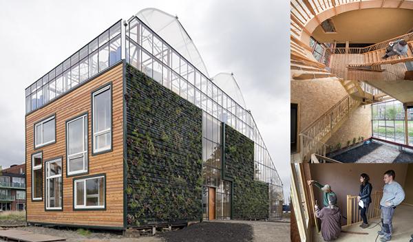 Studenten bouwkunde maakten energieneutraal huis profielen for Huis duurzaam maken