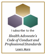 Health Advocate Code of Conduct Badge