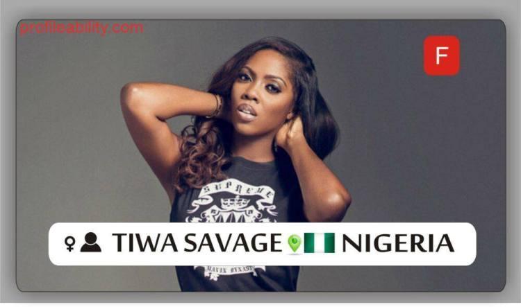 Tiwa Savage | ProfileAbility