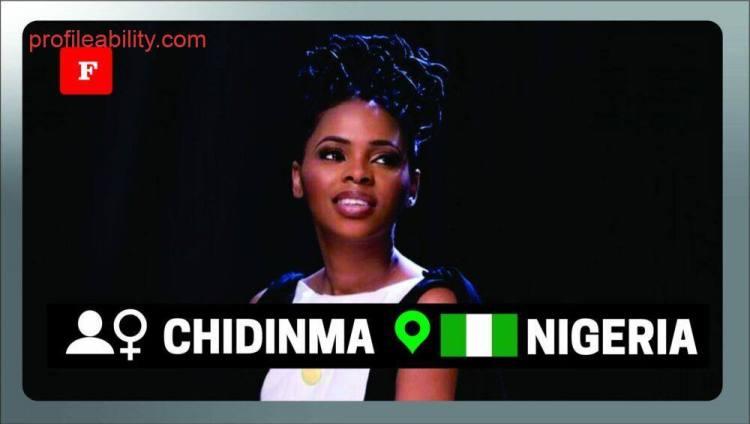 Chidinma profile