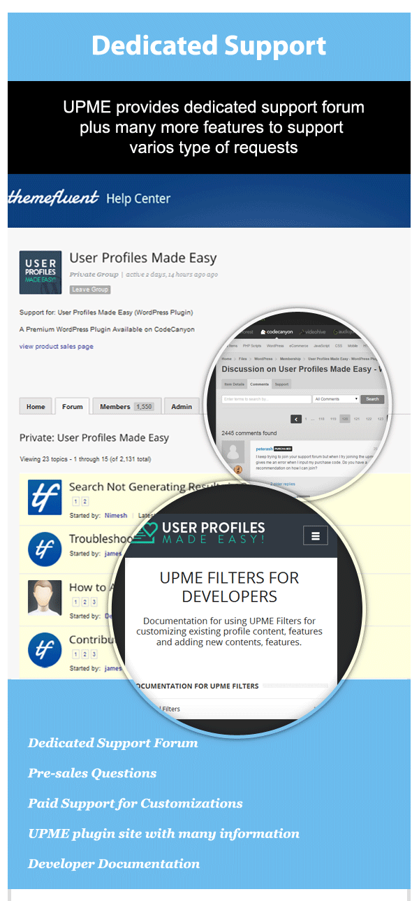 User Profiles Made Easy - WordPress Plugin 271