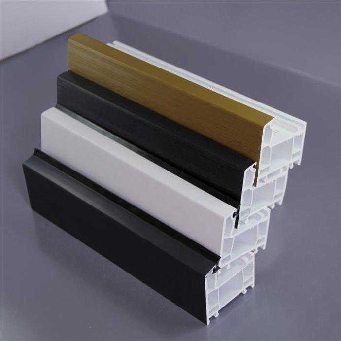 Colourful Upvc Profiles