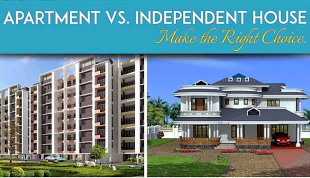 Independent Houses Vs Apartments The Boundless Battle In Noida