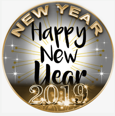 happy new year profile picture frame