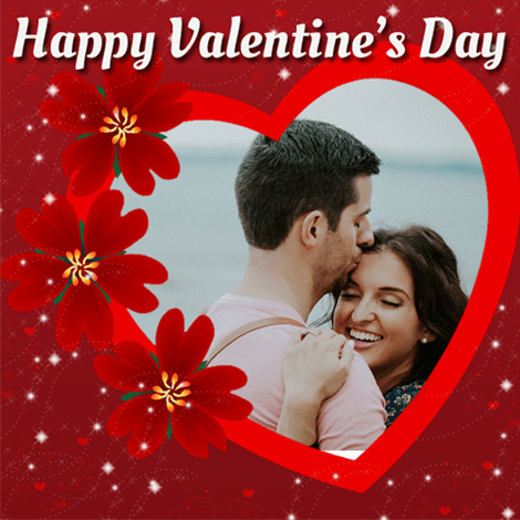 Valentines Day 2019 Profile Picture Frame For Your Crush Boyfriend
