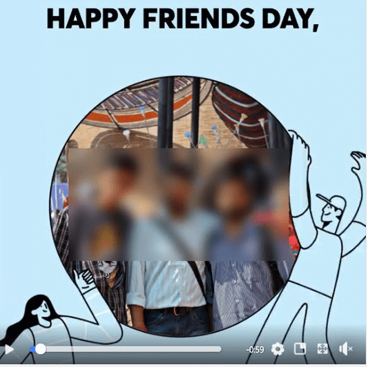 Happy Friends Day Video