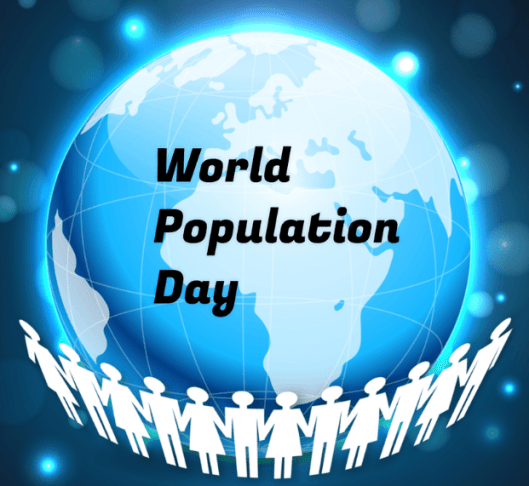 World Population Day Profile Picture Frame