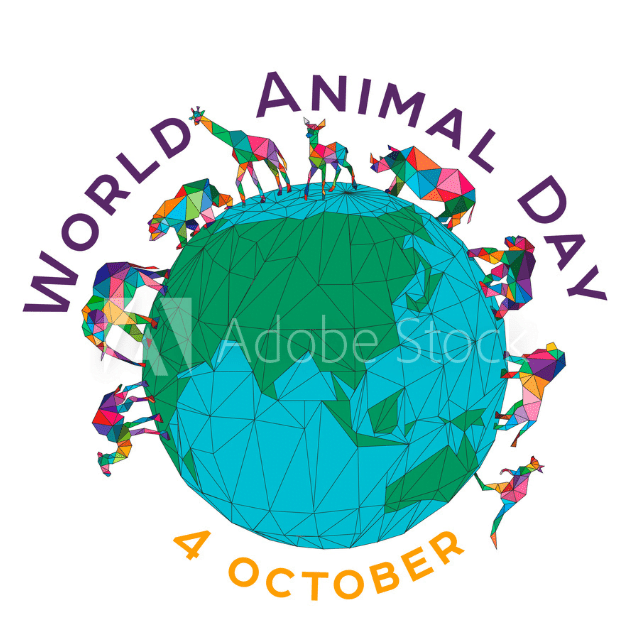World Animal Day Profile Picture Frame