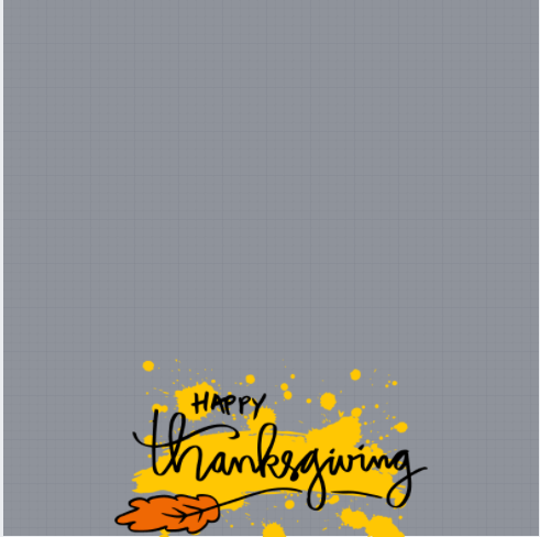 Thanksgiving Day Frame